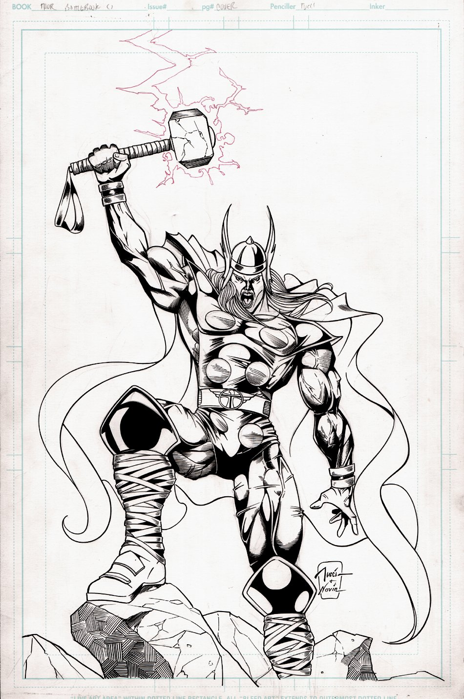 Thor Battlebooks #1 Cover (1998)
