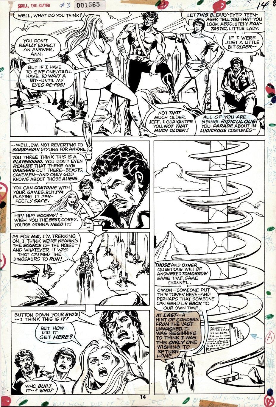 Skull the Slayer #3 p 14 (1975)