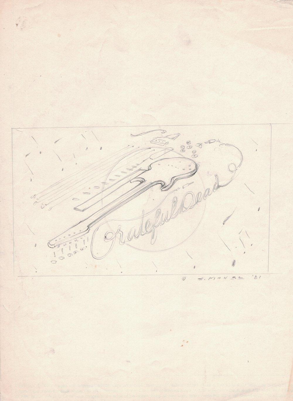 Grateful Dead Album Cover Design (1981)