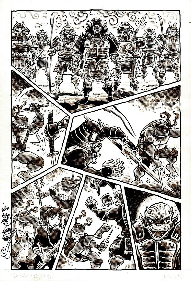 Teenage Mutant Ninja Turtles Smash-Up P 17 (2009)