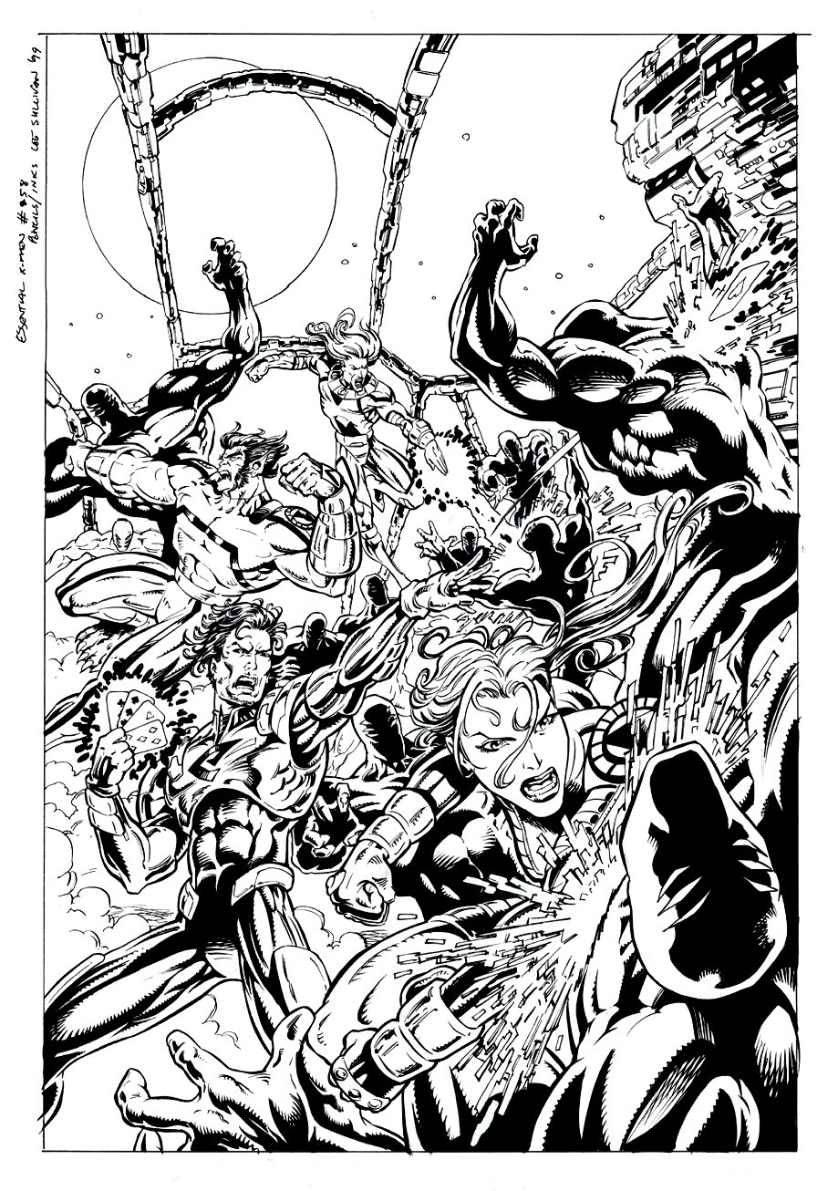 Essential X-Men #58 Cover (1999)