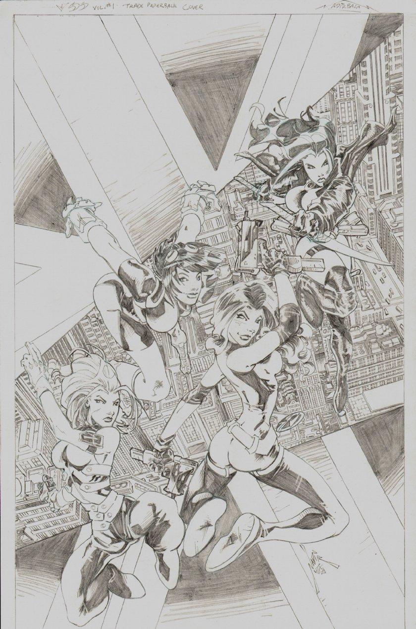USS Nemesis Rising #1 Cover (2007)