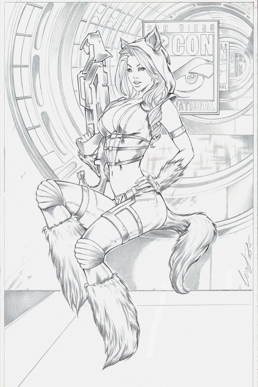 Red Riding Hood Sexy 1st Issue Cover! (2015)
