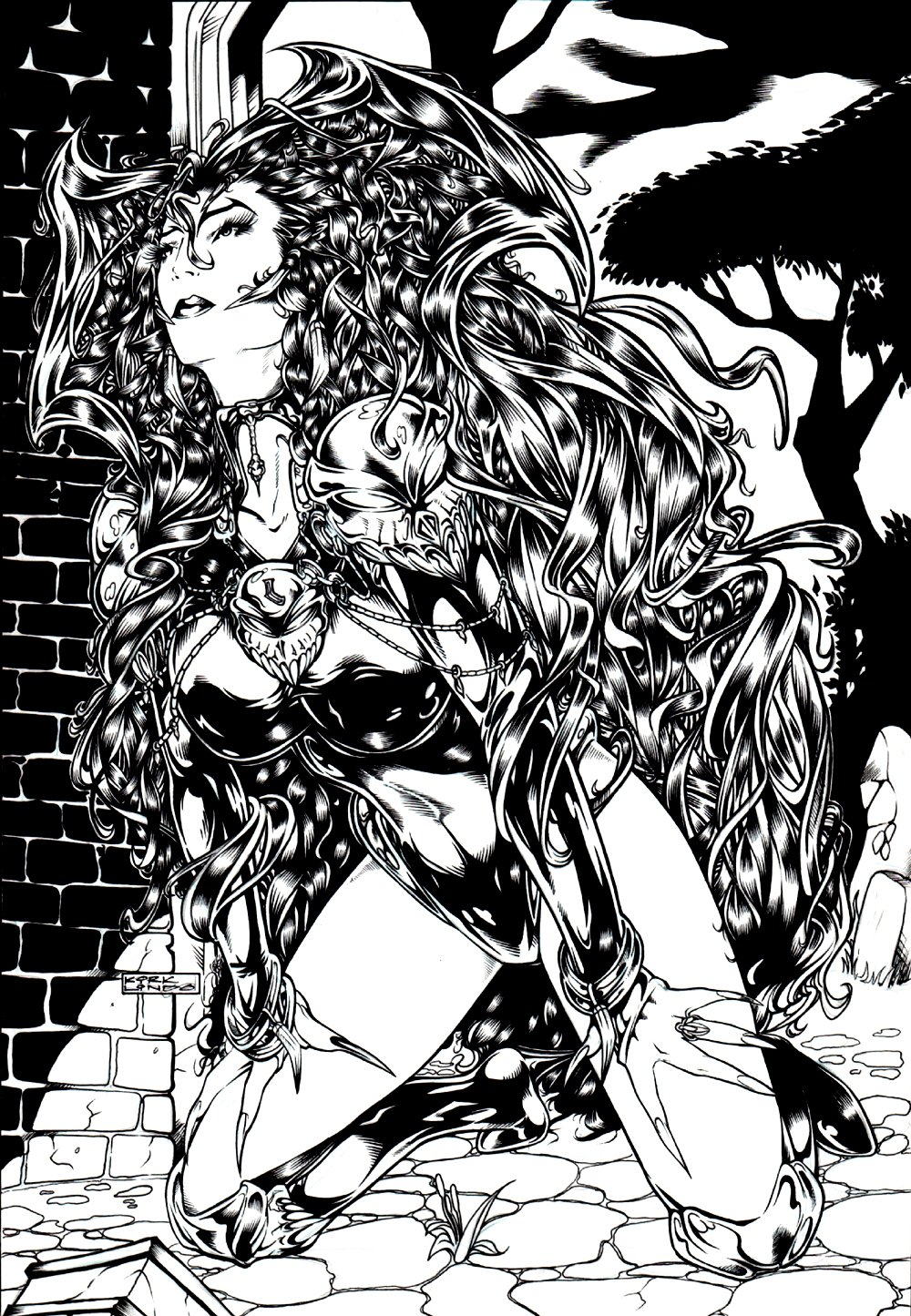 Legends of Luxura #1 Cover (SEXY!) 1996