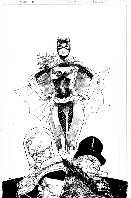 Batgirl: Futures End #1 Lenticular 3-D Direct Cover (BATGIRL, PENGUIN, MR. FREEZE!) 2014