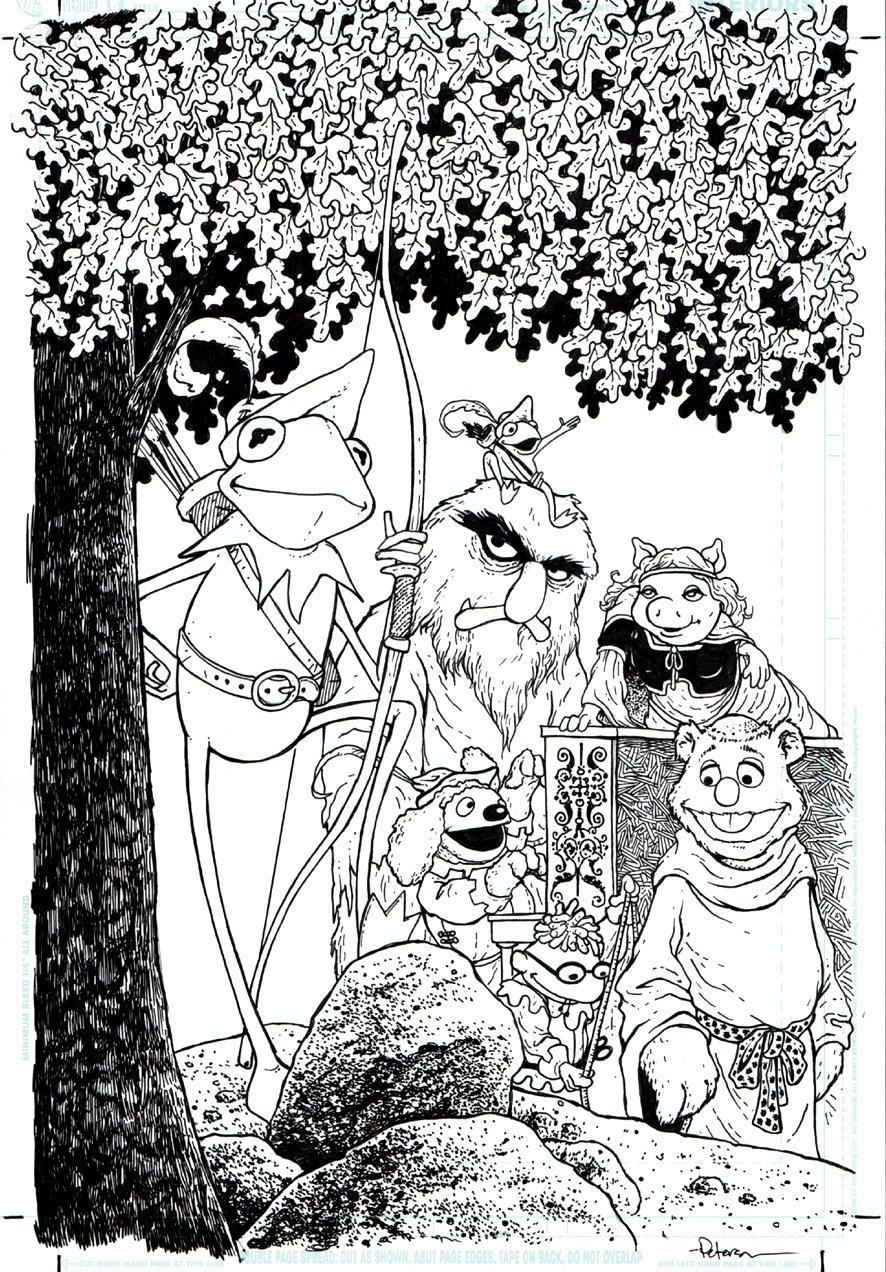Muppet Robin Hood #2 Cover (2009)