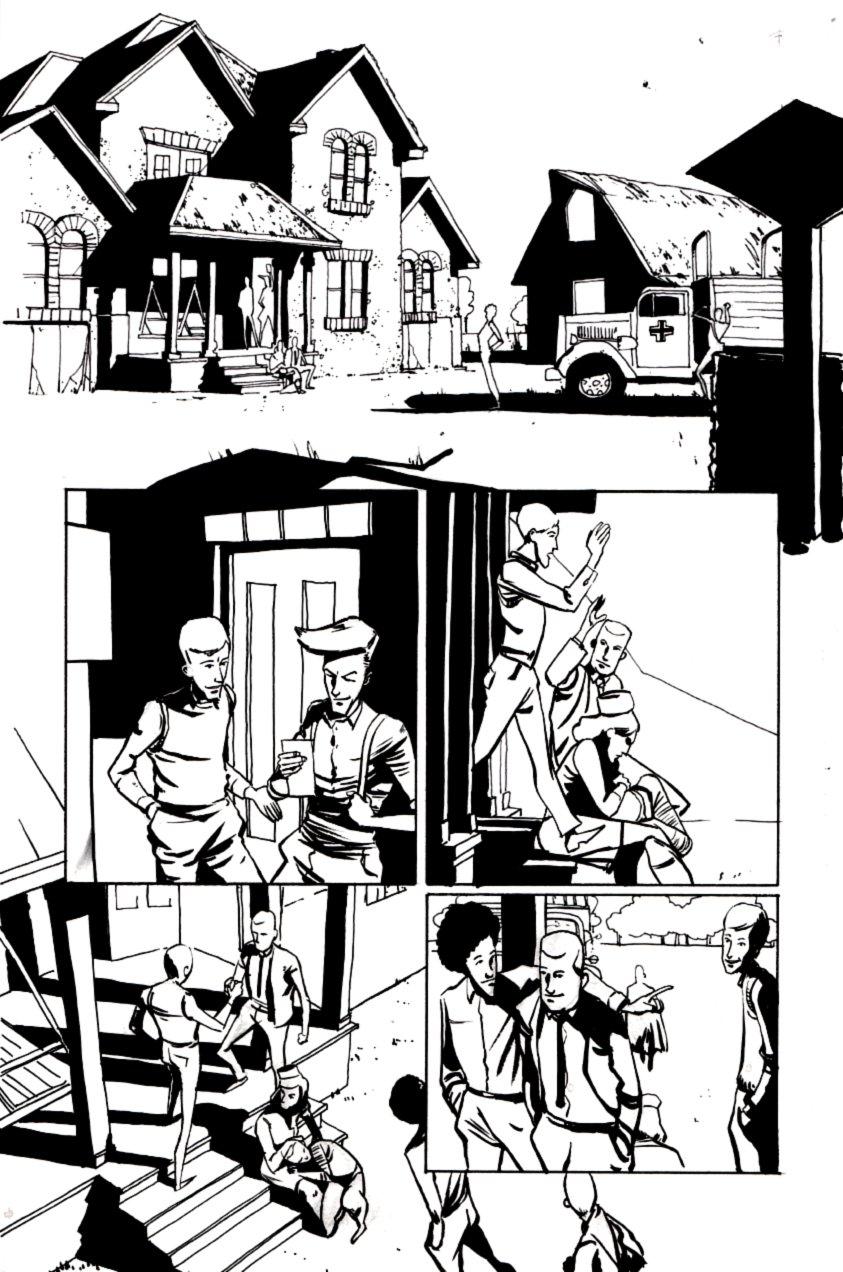 Peter Panzerfaust #4 p 5  (2012)