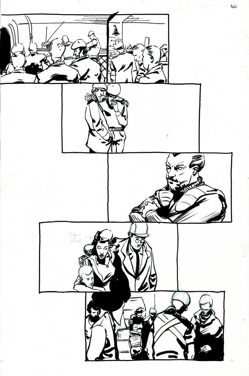 Peter Panzerfaust #7 p 20  (2012)