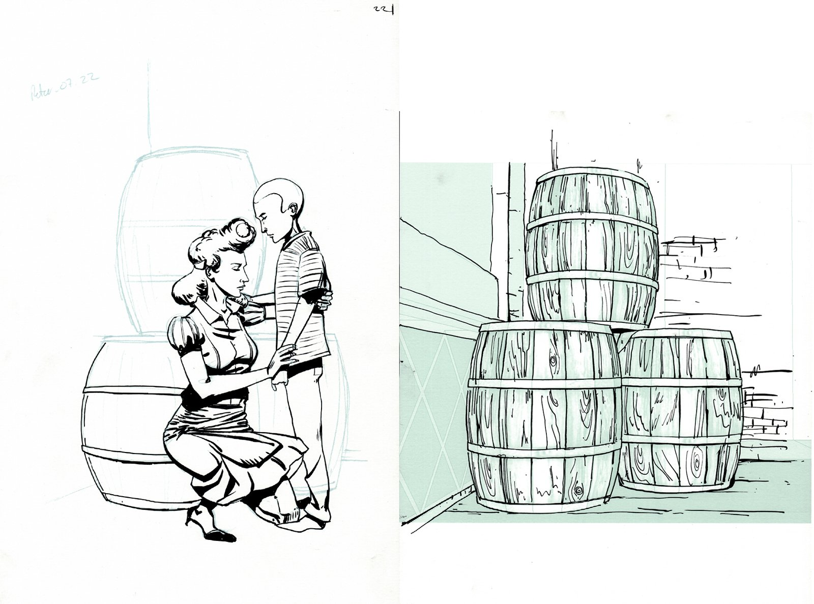 Peter Panzerfaust #7 p 22  SPLASH (2012)