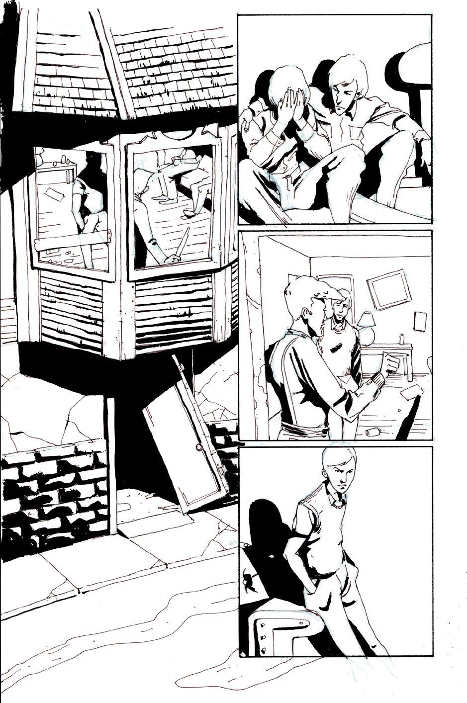 Peter Panzerfaust #1 p 17  (2012)