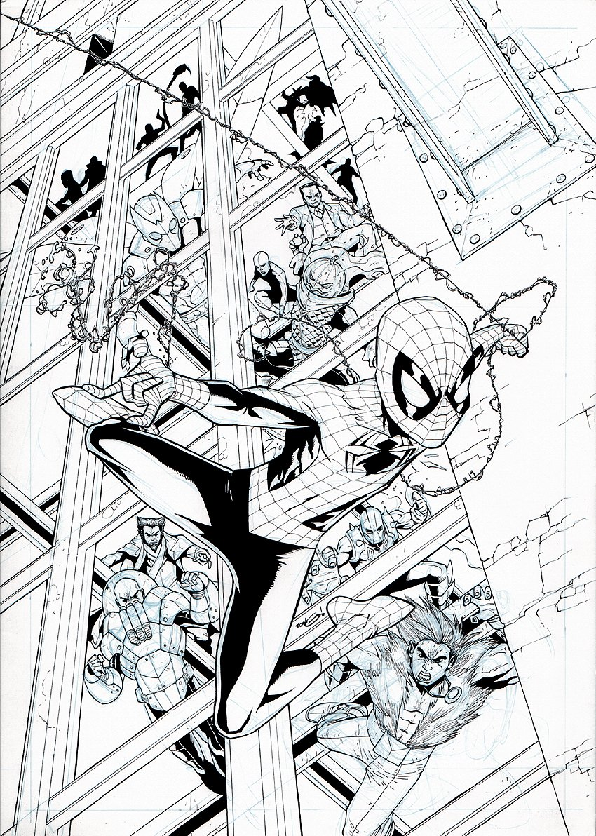 Spectacular Spider-Man #199 Cover (2009)