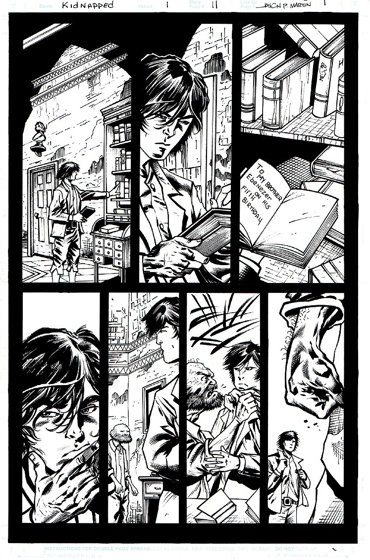Kidnapped #1 p 11 (2009)