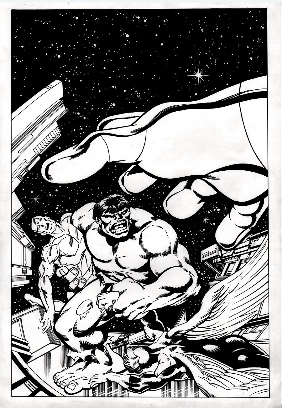 Mighty World of Marvel #36 Cover (Incredible Hulk Annual #7 Cover Homage) 2006