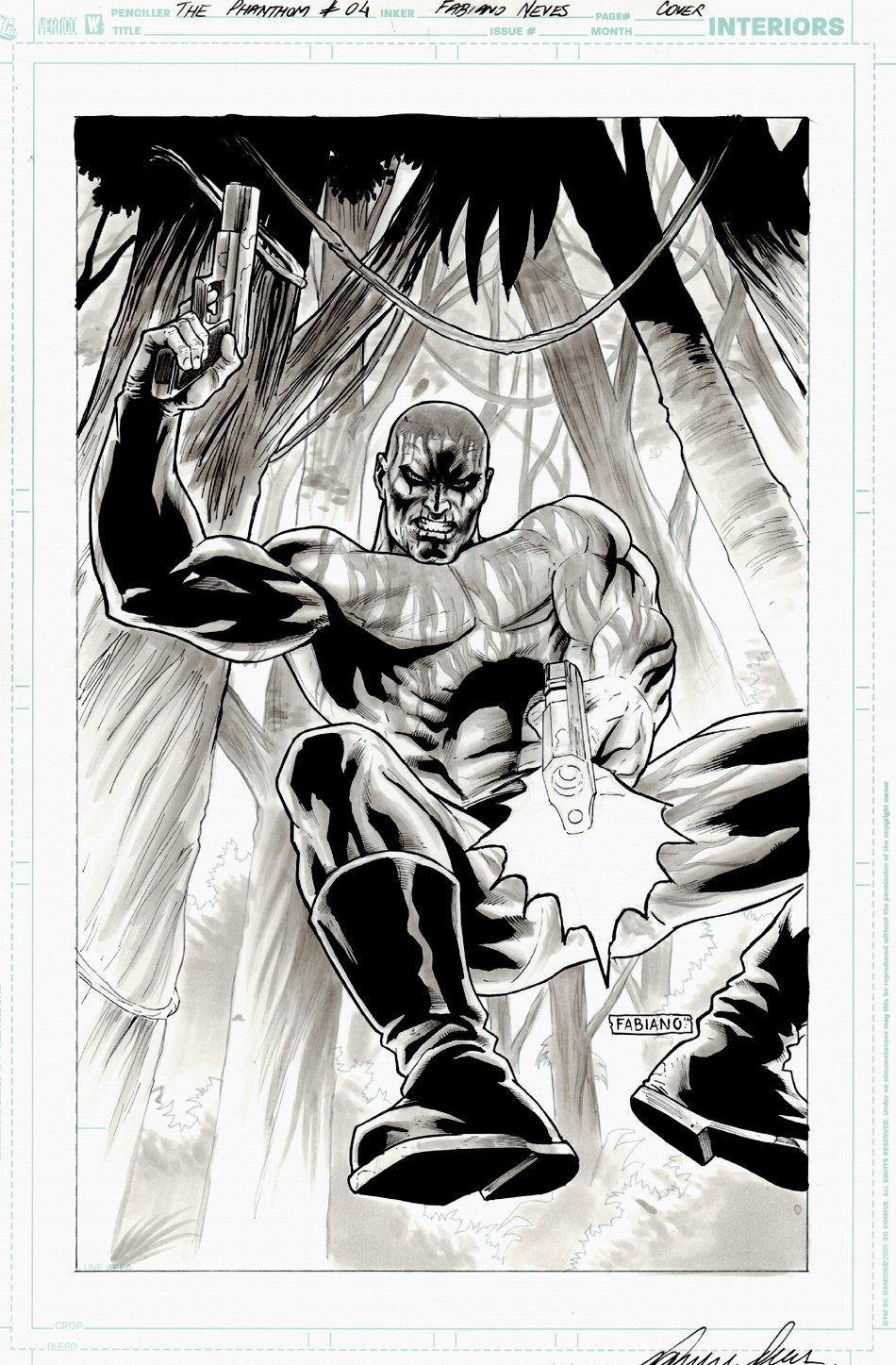 The Last Phantom #4 Cover (2010)