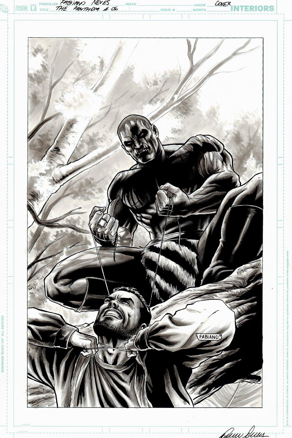 The Last Phantom #6 Cover (2010)