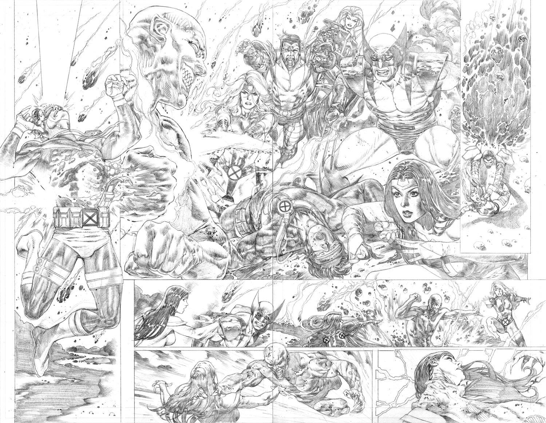 Marvel Comics Presents #6 p 4-5 Double Page Spread (2019)