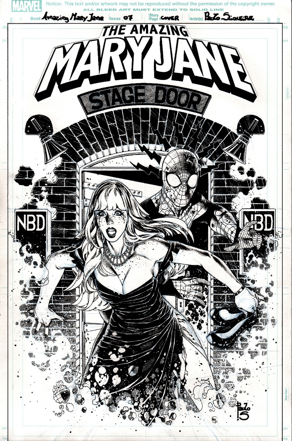 Amazing Mary Jane #7 Cover (SUPER SEXY MJ & SPIDER-MAN!) 2019