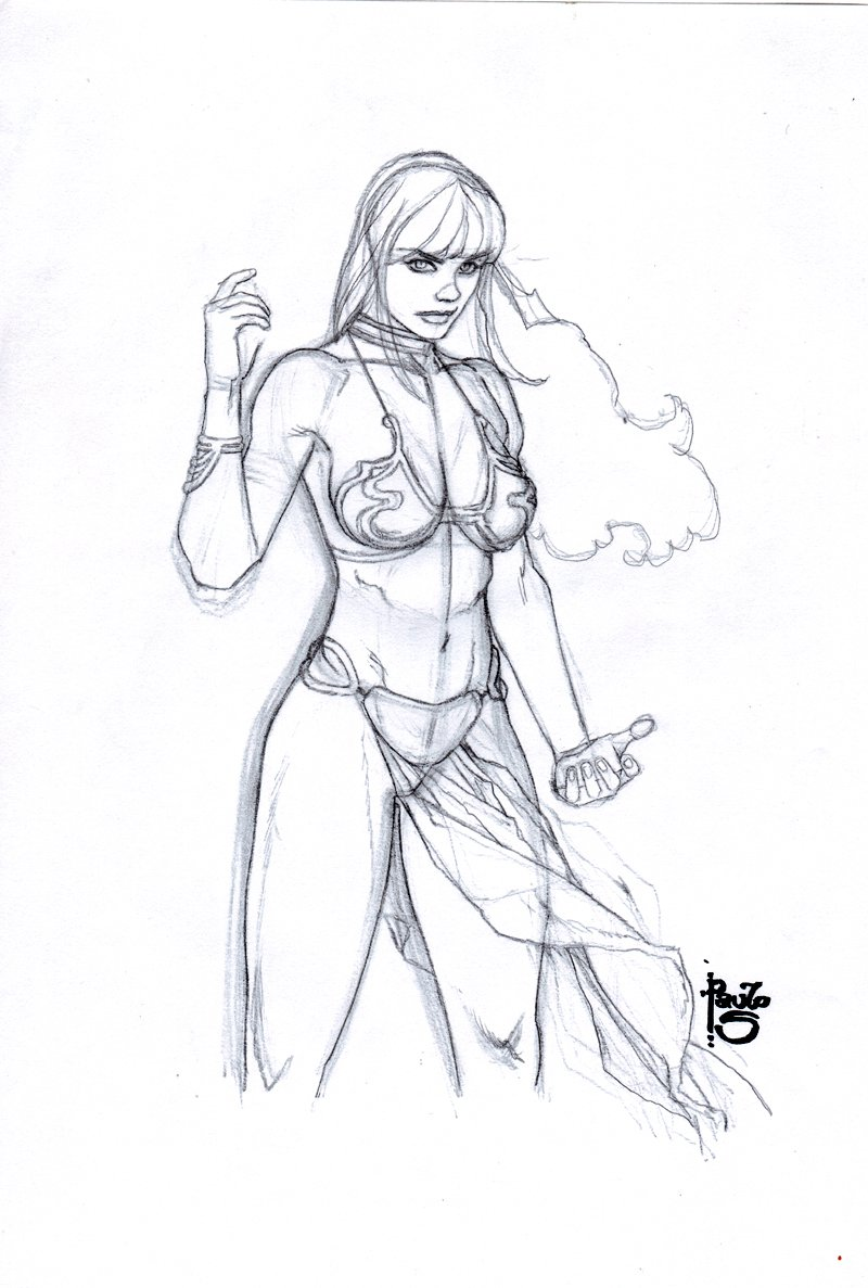 Amazing Mary Jane #10 Cover Prelim Art