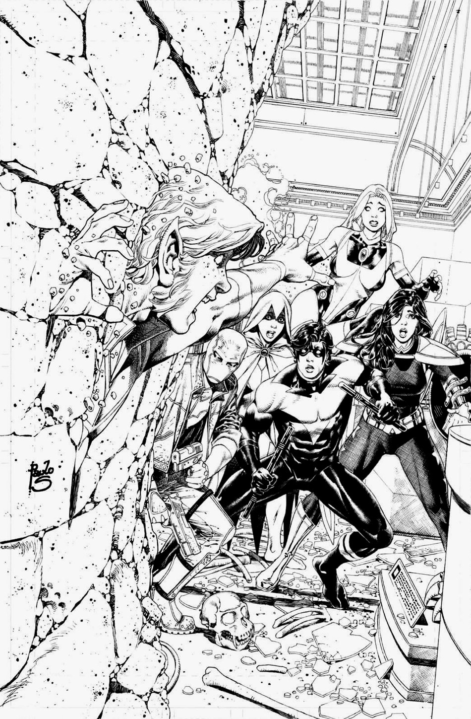Titans Giant #1 Cover (WOW!!!)