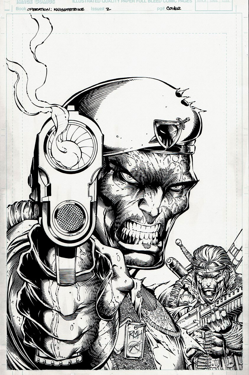Operation: Knightstrike #2 IMAGE Cover (1995)