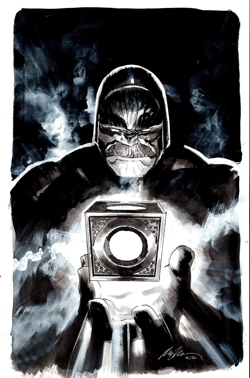 Stunning Darkseid Pinup