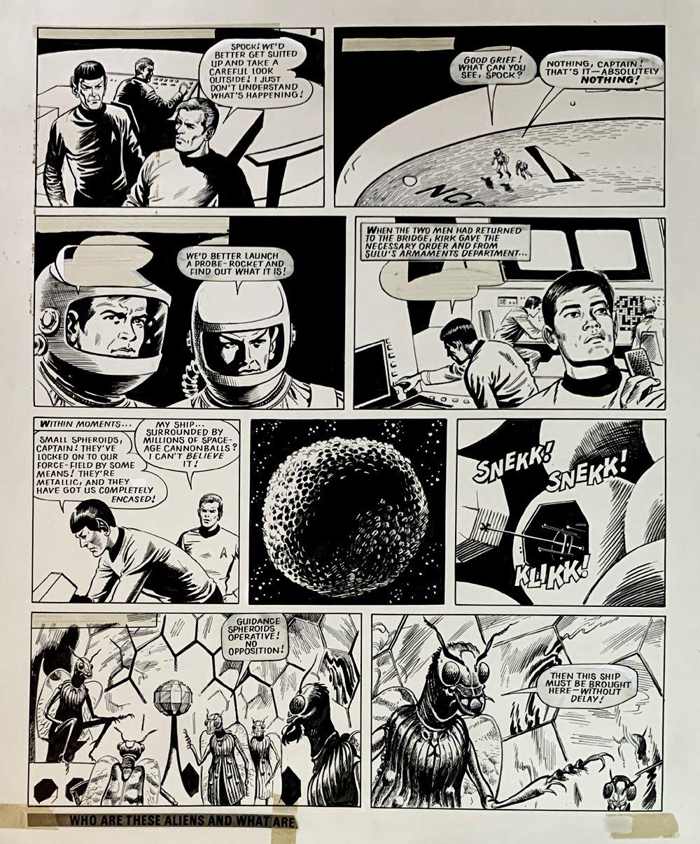 Star Trek Newspaper Strip 2-24-1973 (VERY LARGE)
