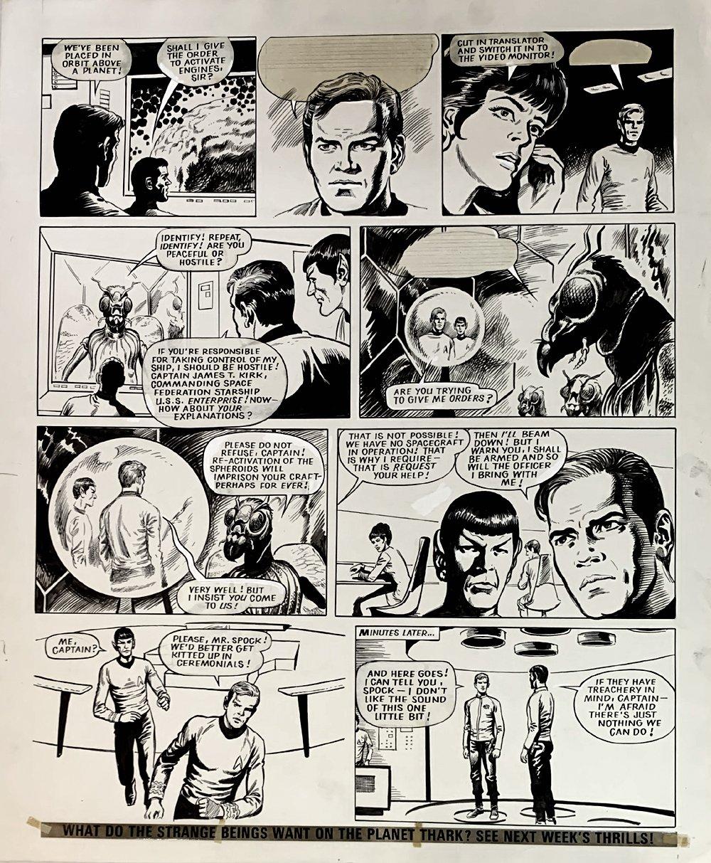 Star Trek Newspaper Strip 3-3-1973 (VERY LARGE)