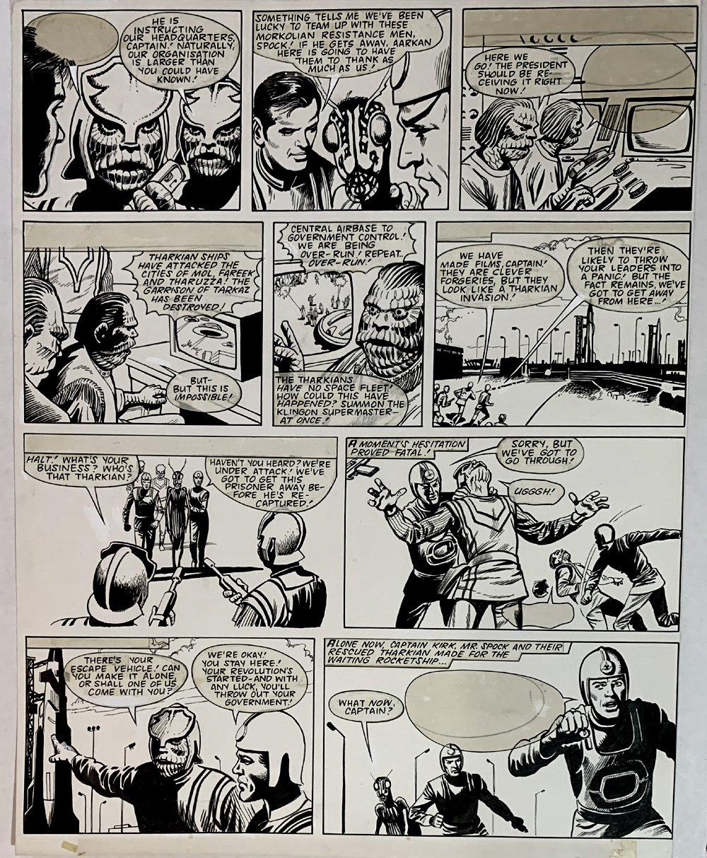 Star Trek Newspaper Strip 5-12-1973 (VERY LARGE)