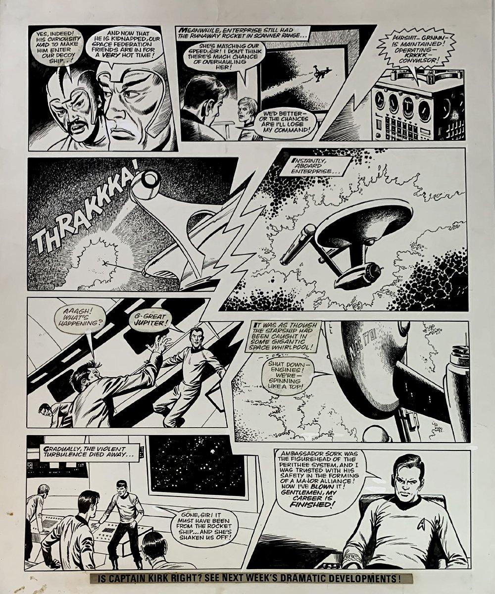 Star Trek Newspaper Strip 9-2-1972 (VERY LARGE)