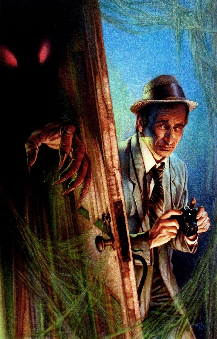 Kolchak the Night Stalker #1 Cover Painting (2003)