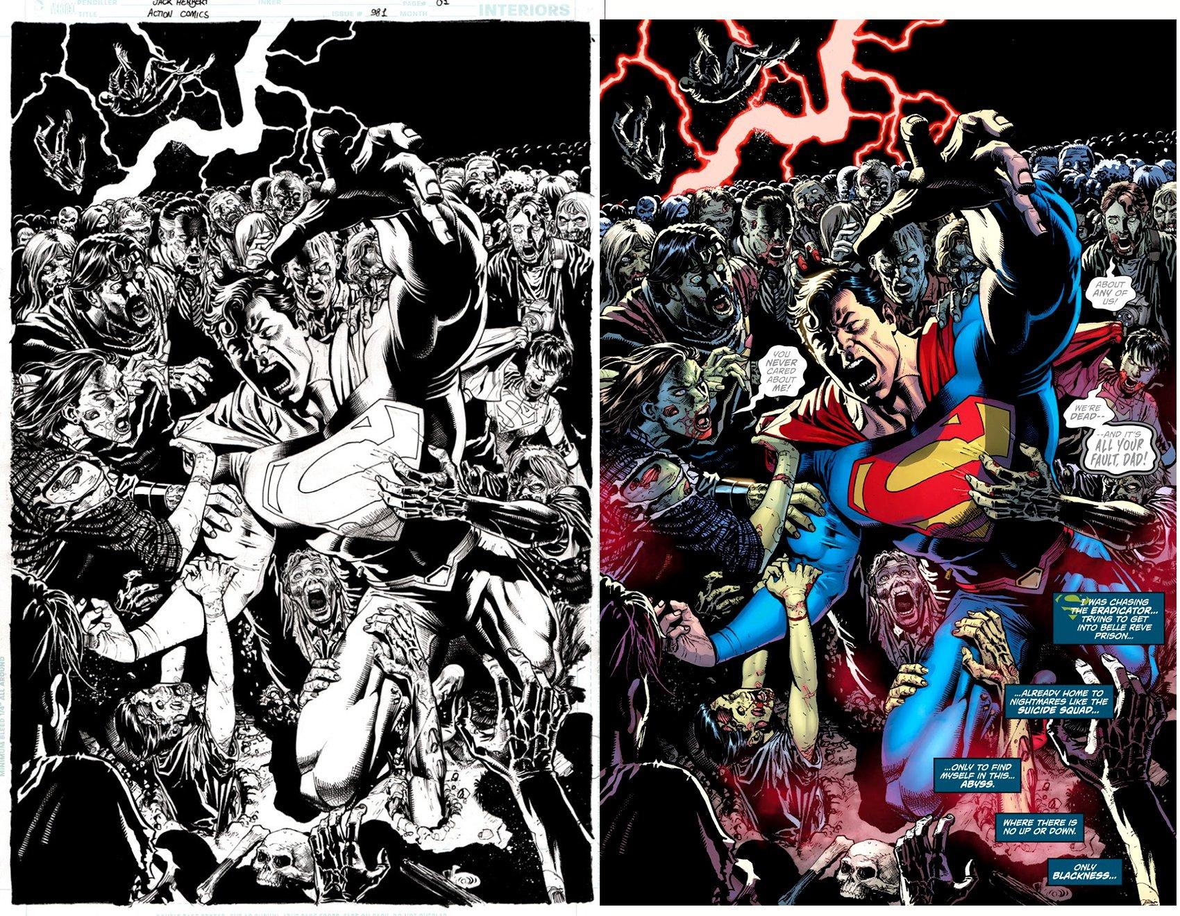 Action Comics #981 p 1 SPLASH