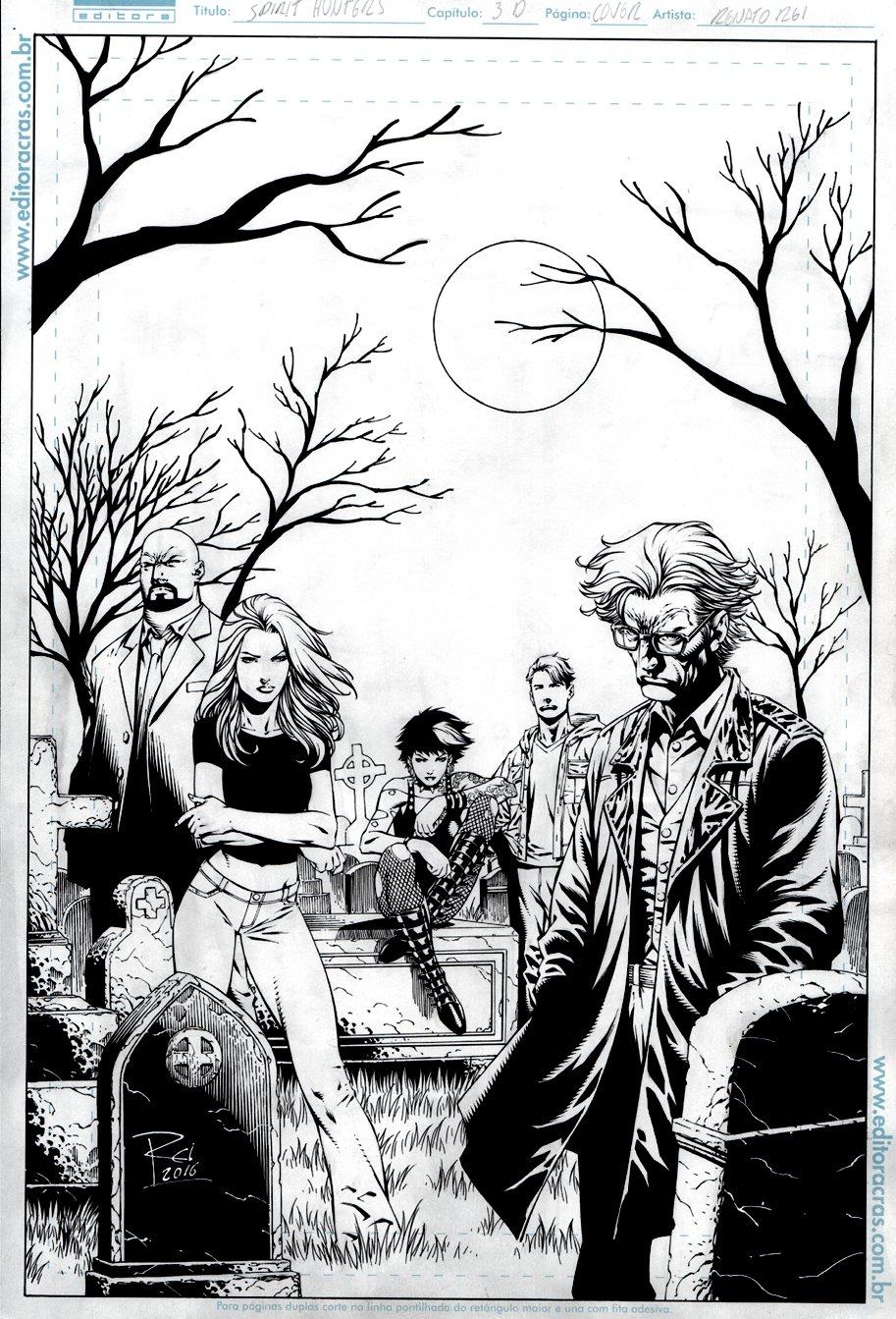 Spirit Hunters #3 Cover (2016)