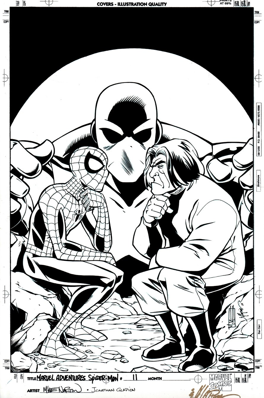 Marvel Adventures Spider-Man #11 Cover (2005)