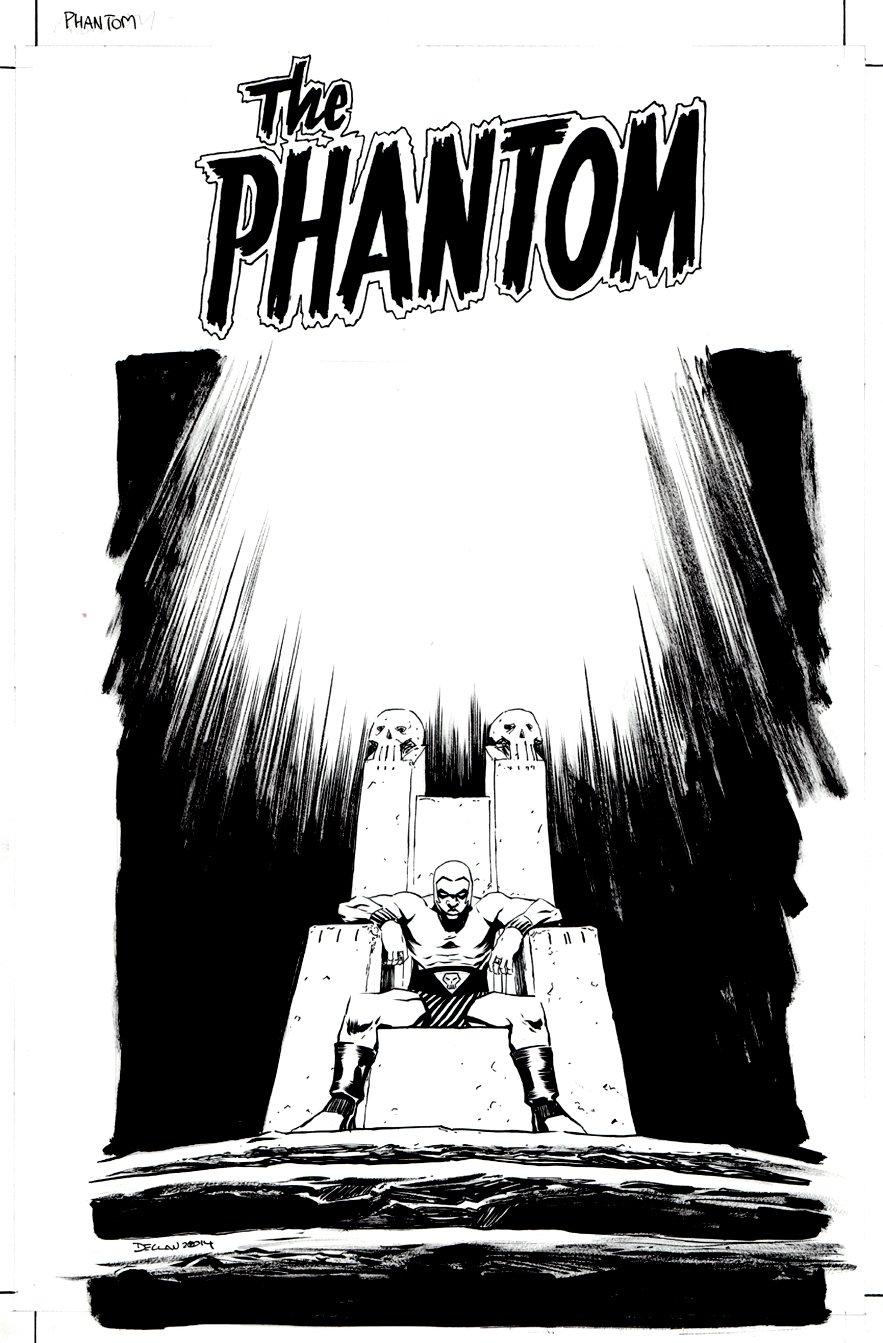 The Phantom #3 Cover (2014)