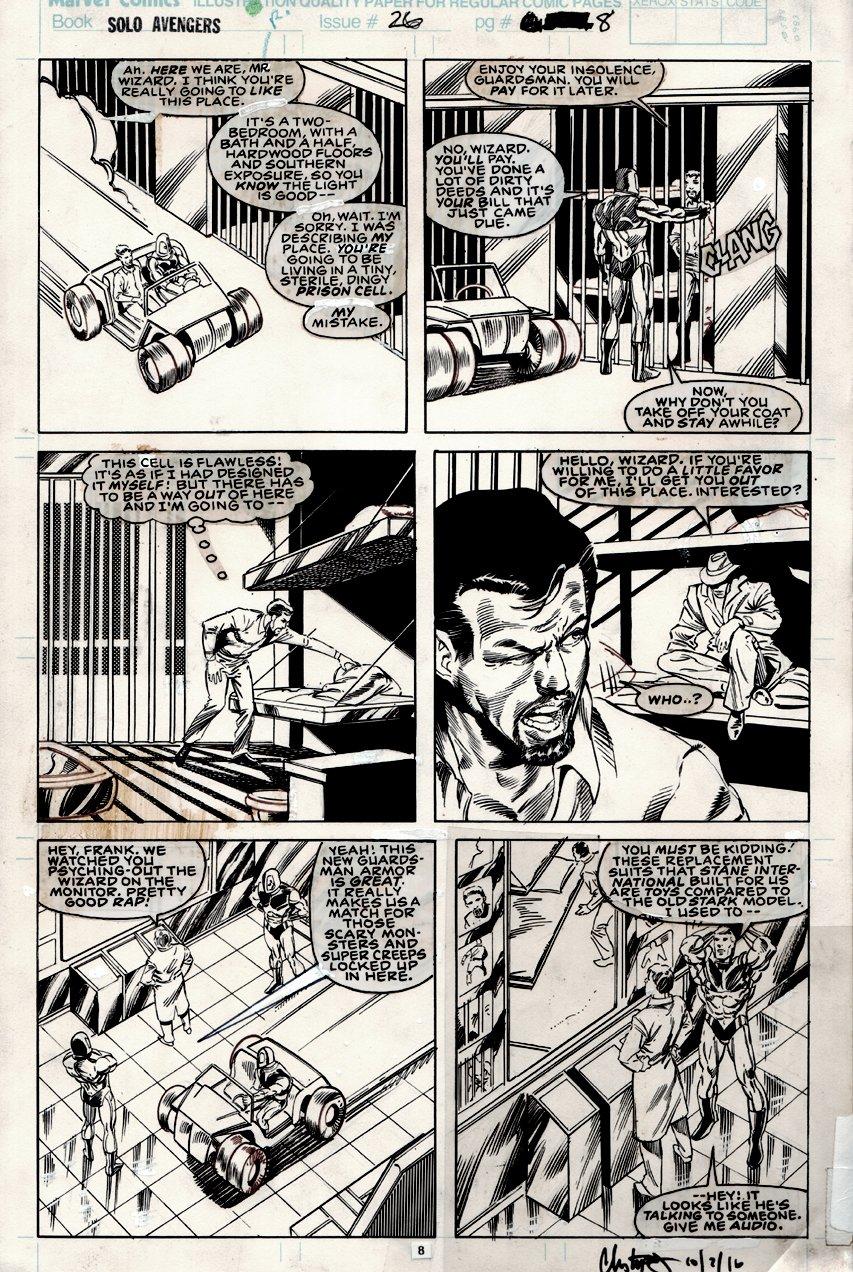 Avengers Spotlight #26 p 8 (1989)