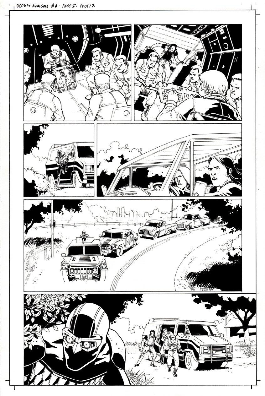 Occupy Avengers #8 p 5