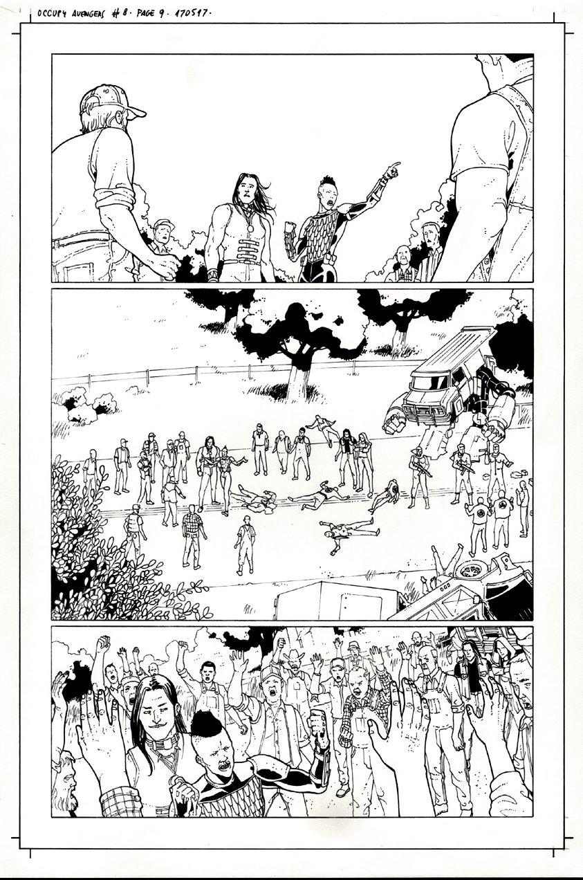 Occupy Avengers #8 p 9