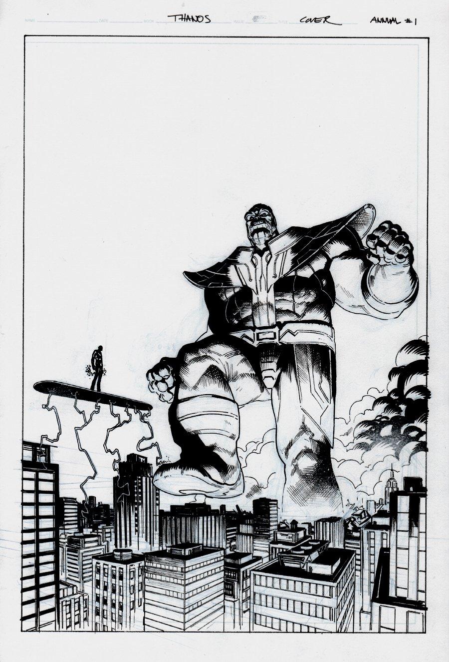 Thanos Annual #1 Cover (2018)