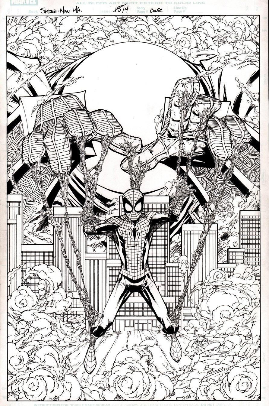 Marvel Adventures Spider-Man #14 Cover (2011)
