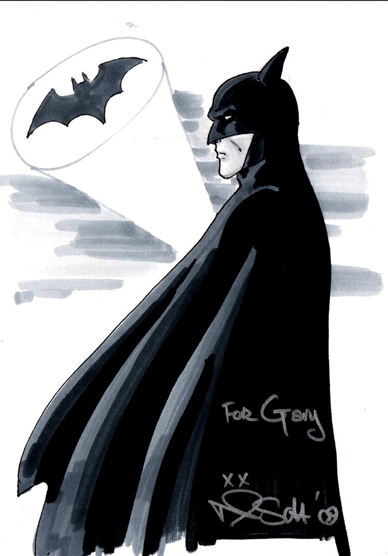 Batman Pinup (2009)