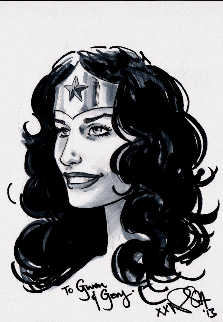 Wonder Woman Pinup (2013)
