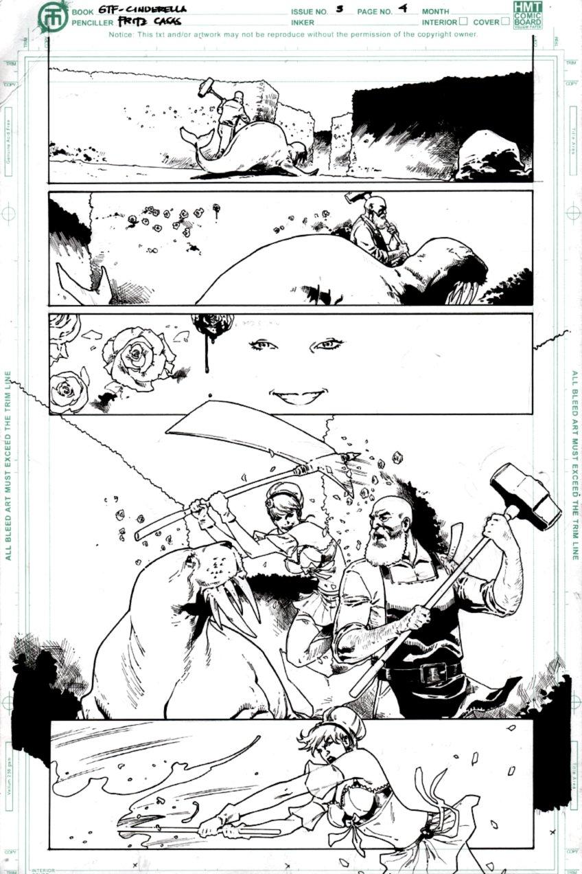 Grimm Fairy Tales Cinderella: Age of Darkness #3 p 4 (2017)