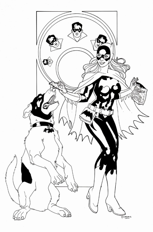 Gotham Girls Published Print (SOLD LIVE ON 'DUELING DEALERS OF COMIC ART' EPISODE #39 PODCAST ON 10-4-2021