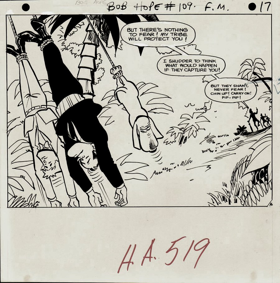 Adventures of Bob Hope #109 p 16 HALF SPLASH (LAST ISSUE) 1968