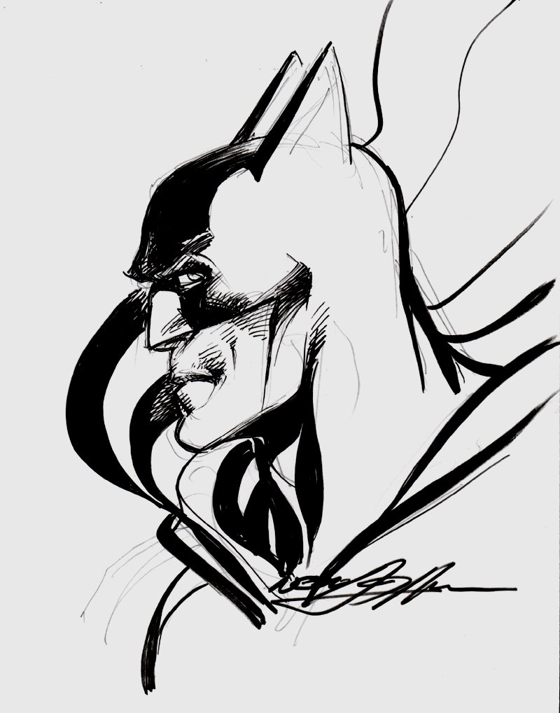 Batman Pinup