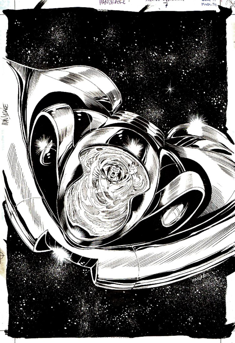 Martian Manhunter #7 Cover (1999)