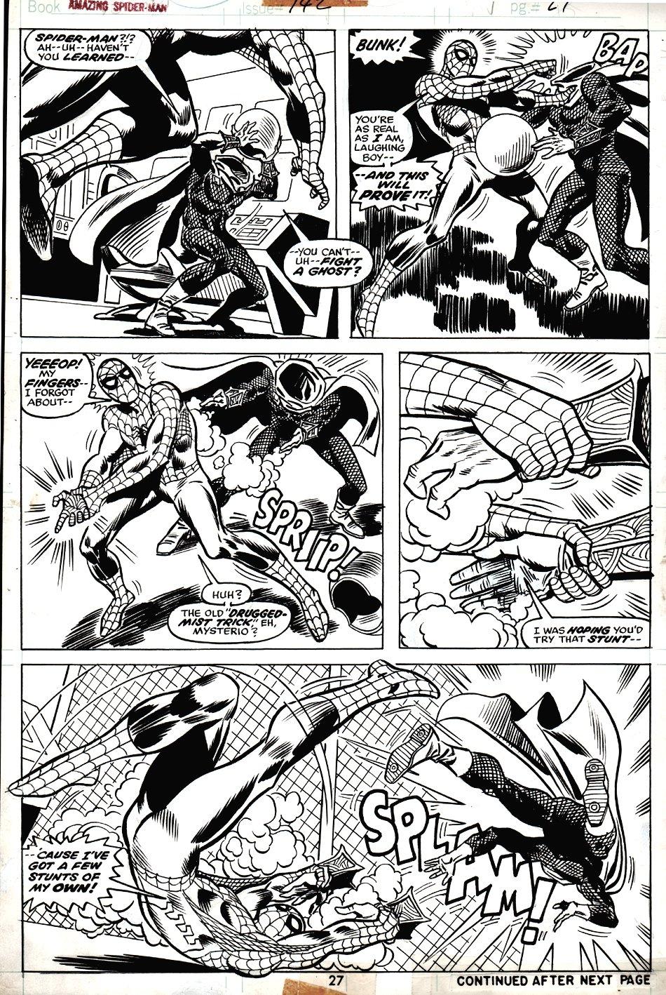 Amazing Spider-Man #142 p 27 (1974)