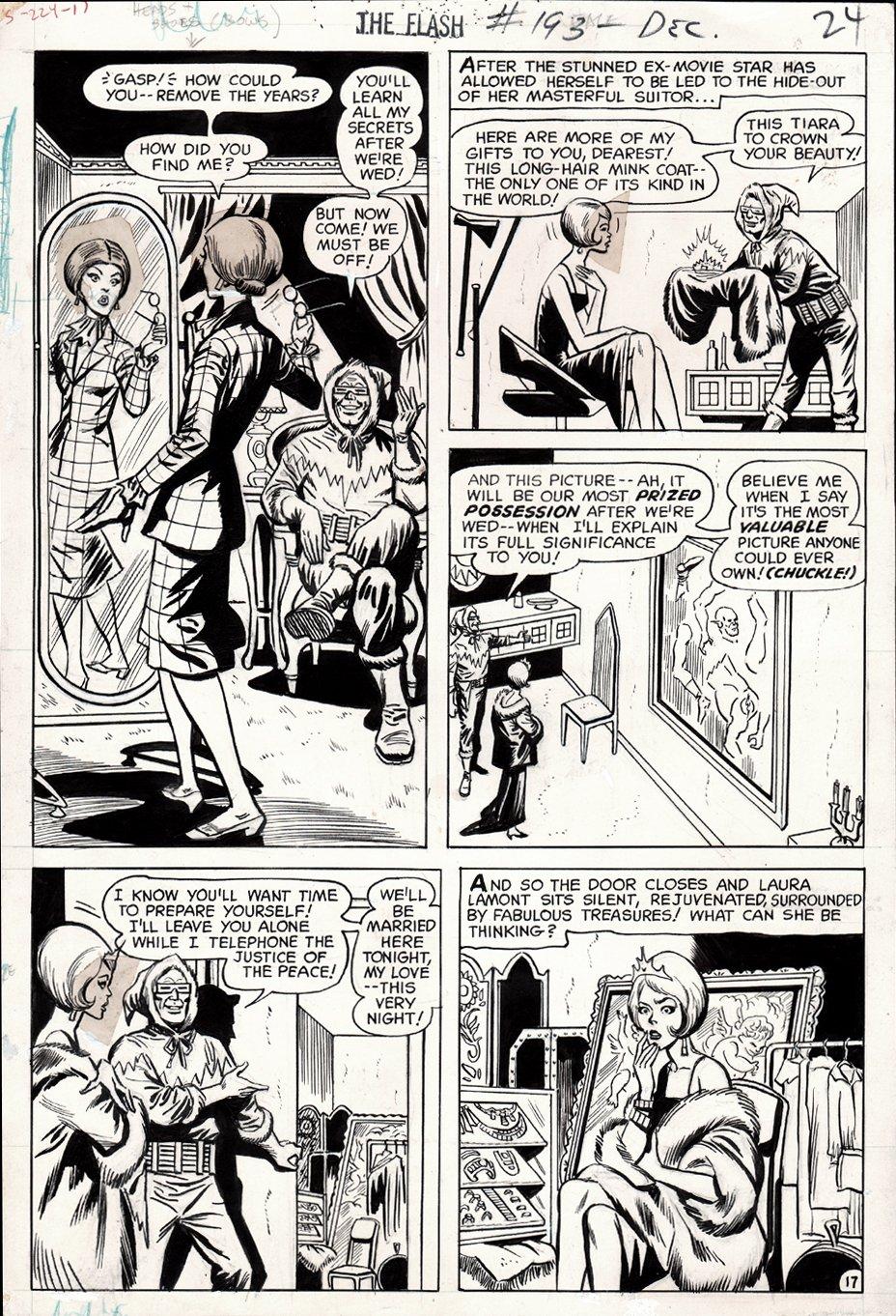 Flash #193 p 17 (1969)