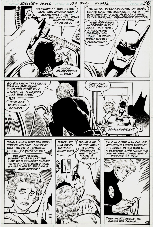 Brave and the Bold #170 p 24 (Batman & Nemesis!)