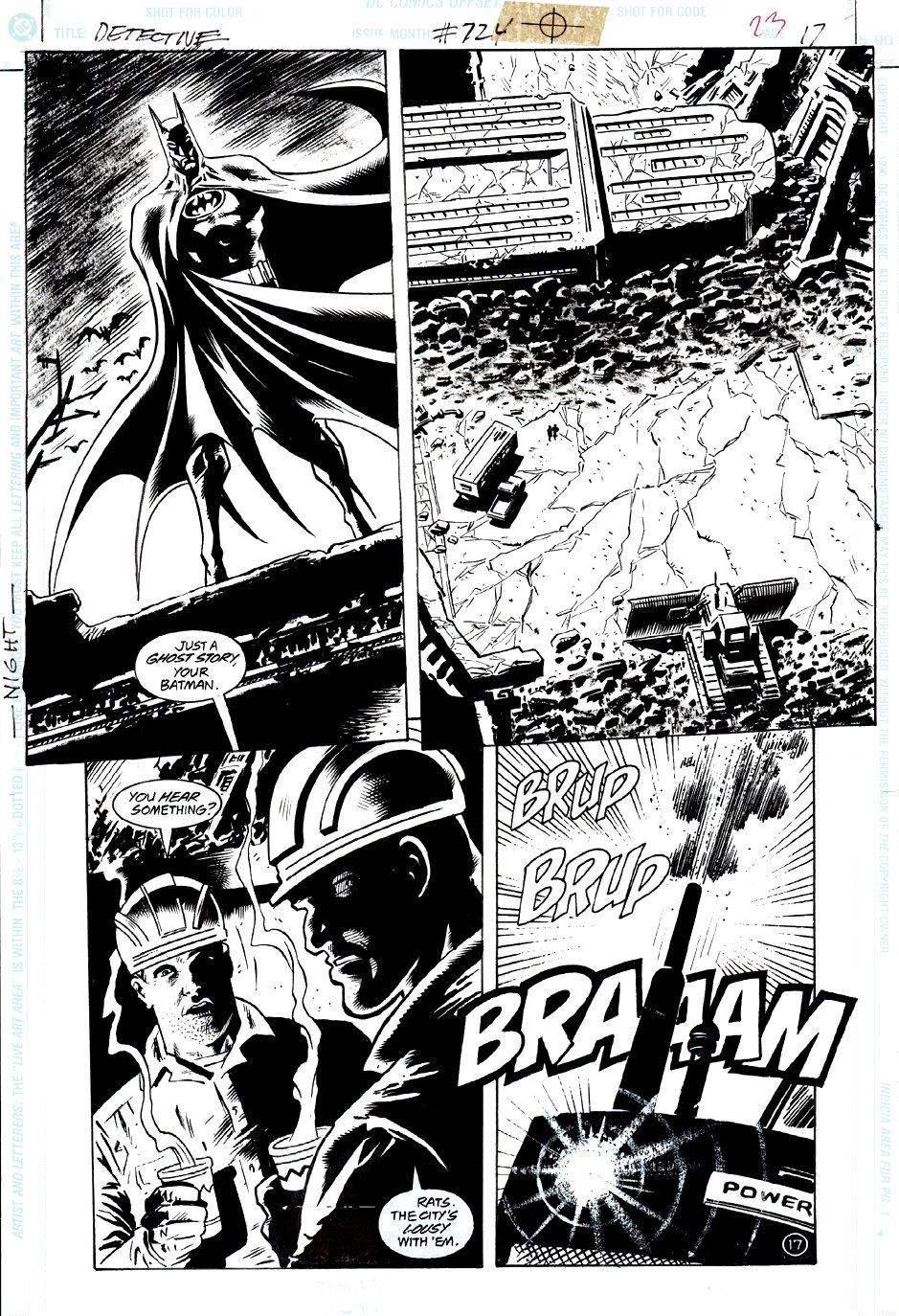 Detective Comics #724 p 17 (GREAT BATMAN IMAGE!) 1998